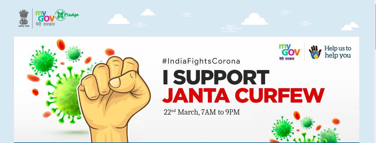 Janta Curfew Pledge